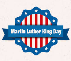 MLK Day Banner Red, White and Blue