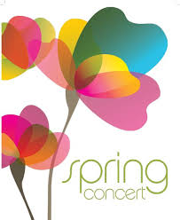 Spring Concert with flowers