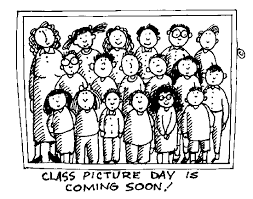 Photo of Stick Figure Classroom Students Standin Together