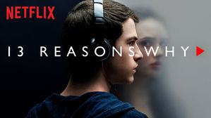 13 Reasons Why Series Image of Boy with headphones on