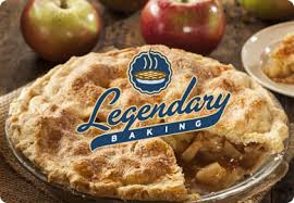 Legendary Pie with Logo