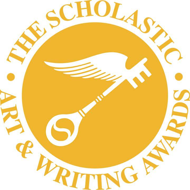 Scholastic Art & Writing Circle Logo in Yellow