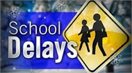 School Delays Sign