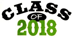 Class of 2018 in green