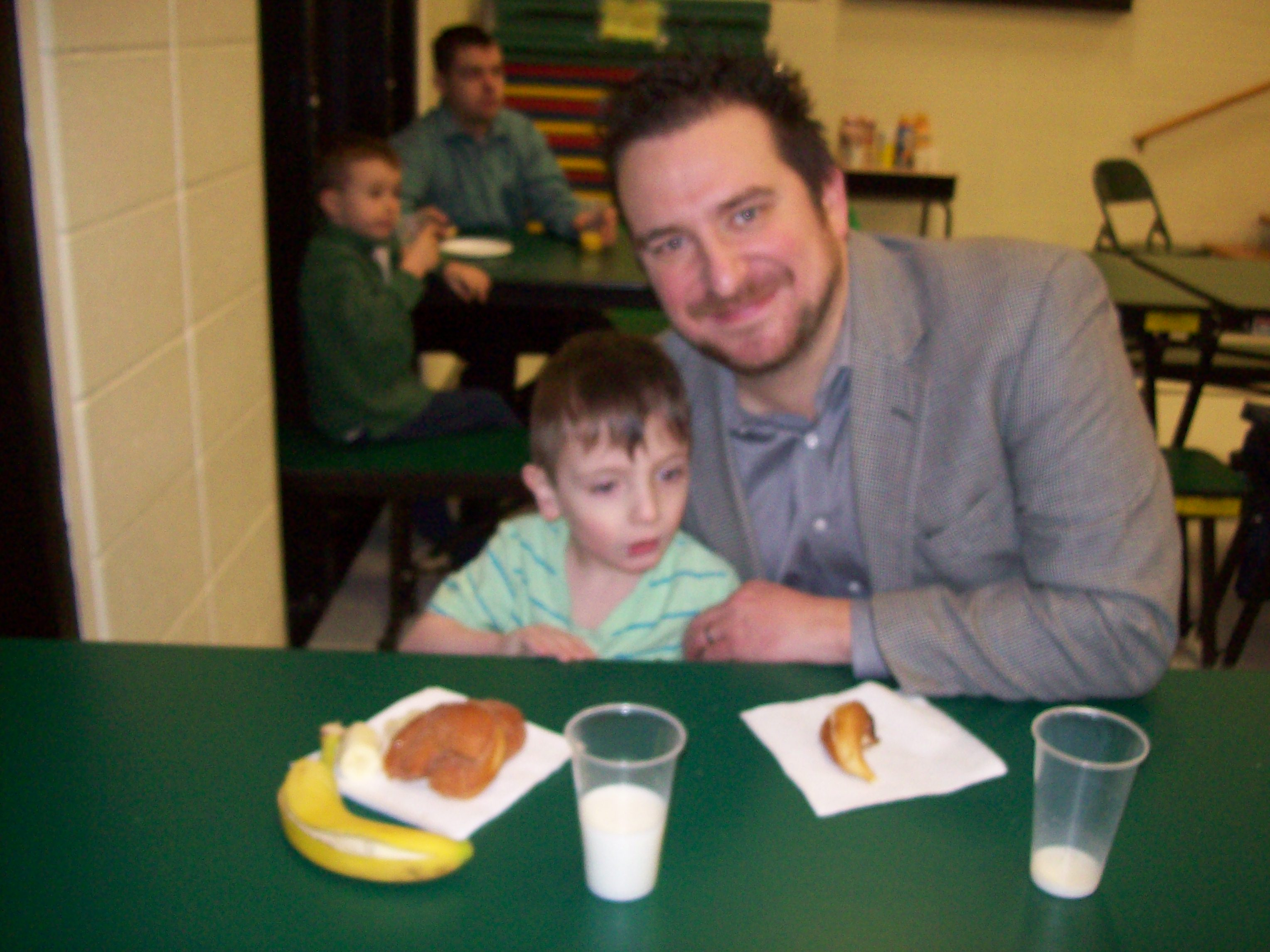 Sugary Smiles at Miller School Dads and Donuts
